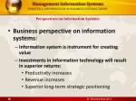 chapter 1 information in business systems today28