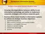 chapter 1 information in business systems today6