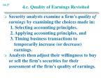 4 c quality of earnings revisited