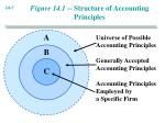 figure 14 1 structure of accounting principles