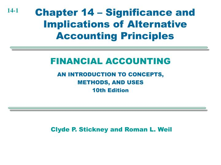financial accounting an introduction to concepts methods and uses 10th edition n.