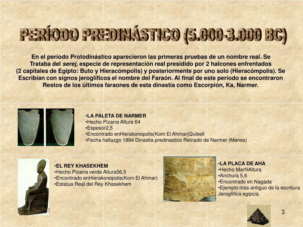 PERÍODO PREDINÁSTICO (5.000-3.000 BC)
