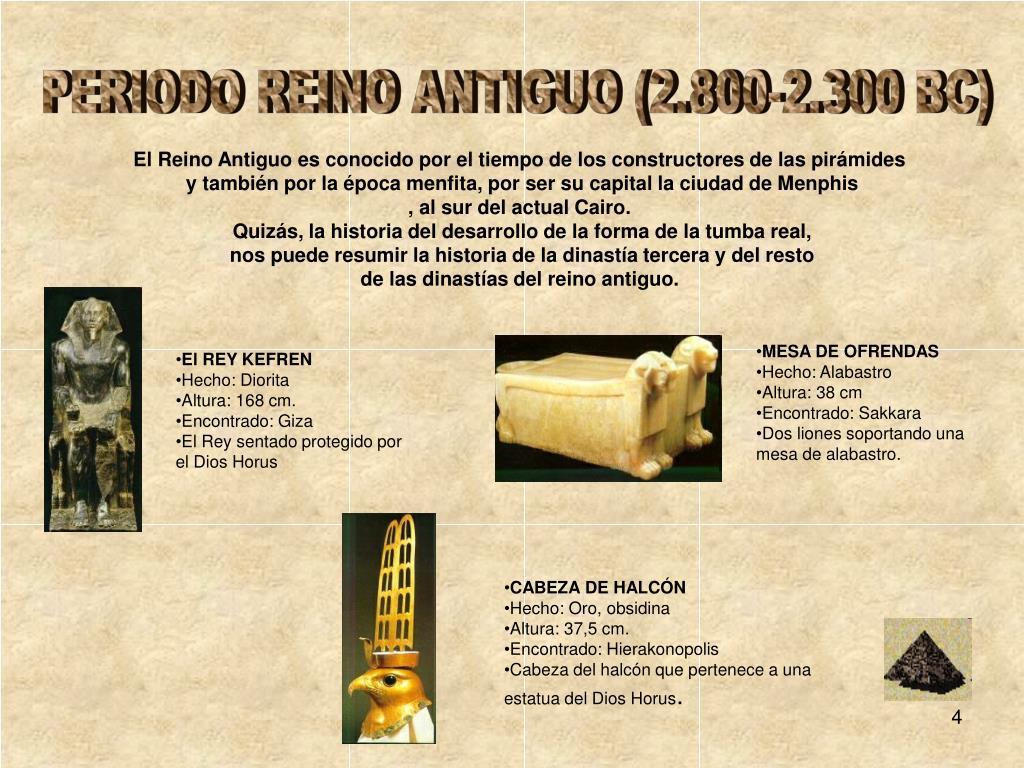 PERIODO REINO ANTIGUO (2.800-2.300 BC)