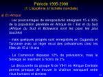 p riode 1995 2000 1 l pid mie l chelle mondiale