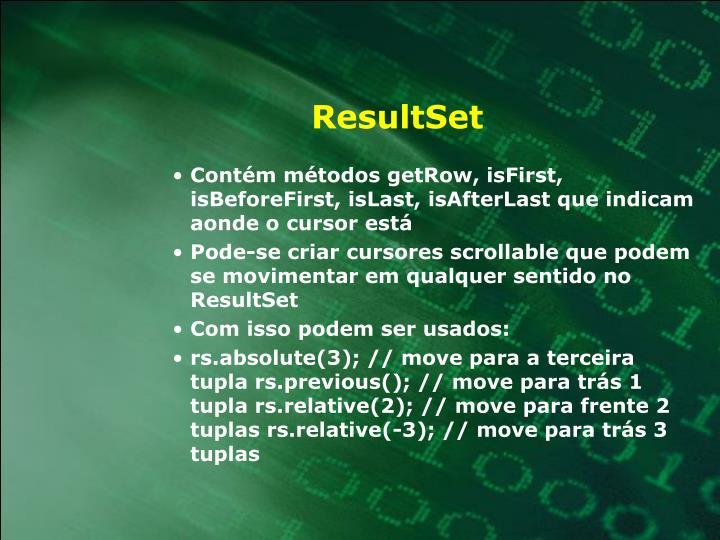 ResultSet