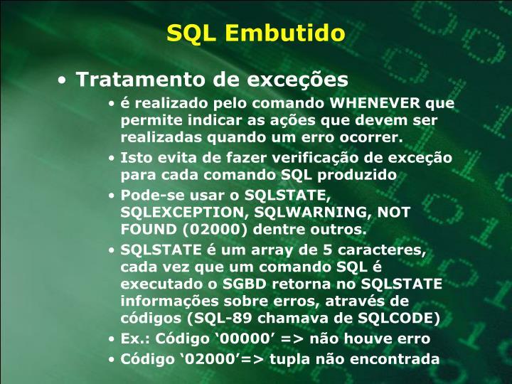 SQL Embutido