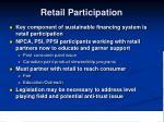 retail participation