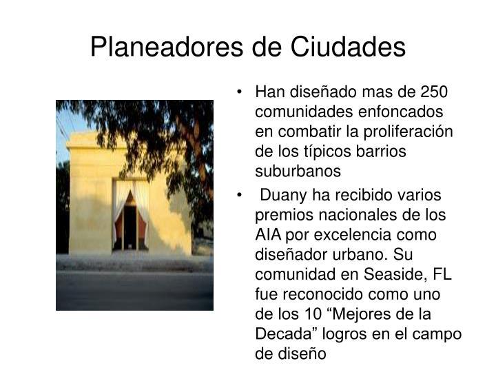 Planeadores de Ciudades