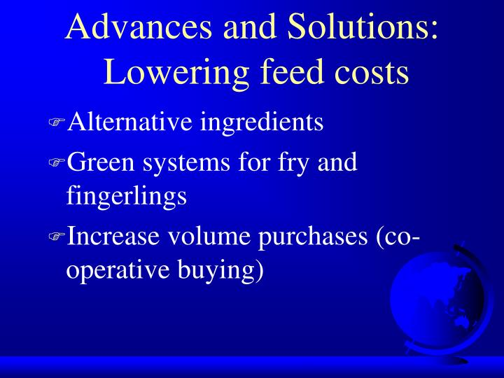 Advances and Solutions: