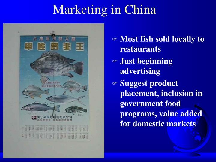 Marketing in China