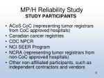 mp h reliability study1
