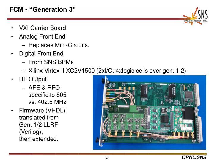 VXI Carrier Board