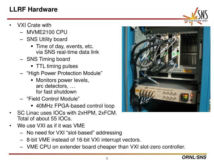 Llrf hardware