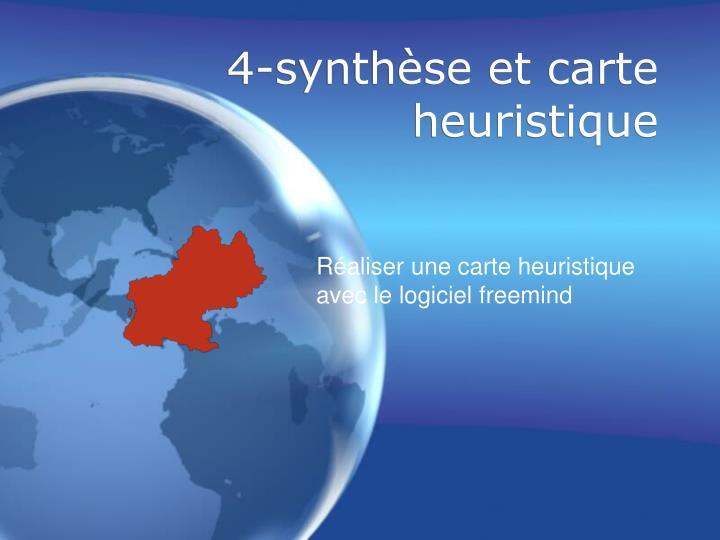 4-synthèse et carte heuristique