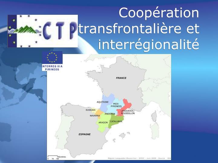 Coopération transfrontalière et