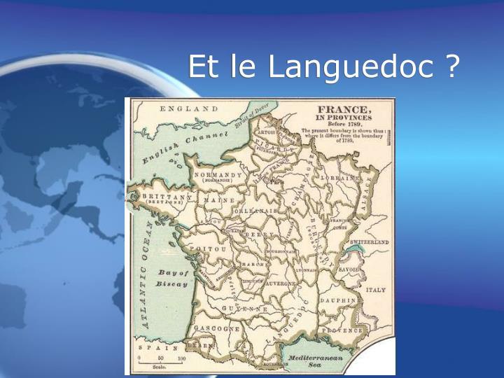 Et le Languedoc ?