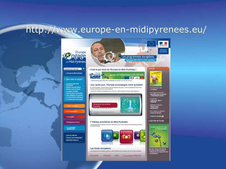 http://www.europe-en-midipyrenees.eu/