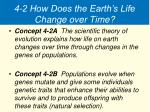 4 2 how does the earth s life change over time