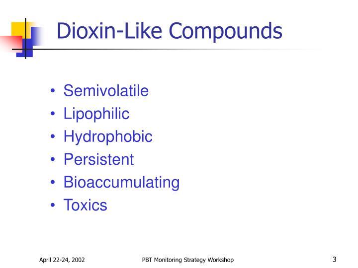 Dioxin like compounds1