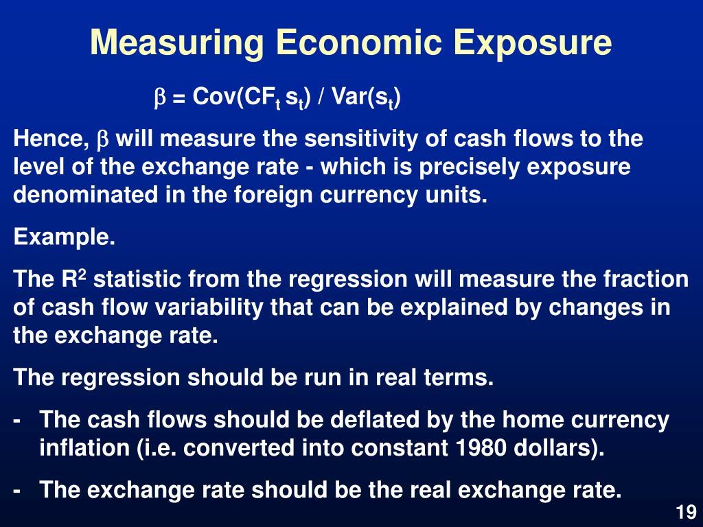 Measuring Economic Exposure