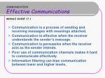 communication effective communications module guide 17 1