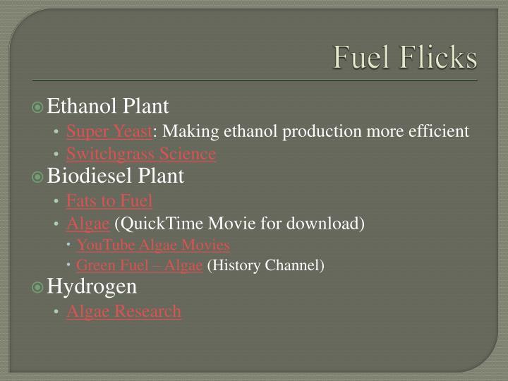 Fuel Flicks