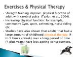 exercises physical therapy