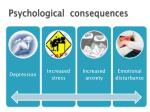 psychological consequences