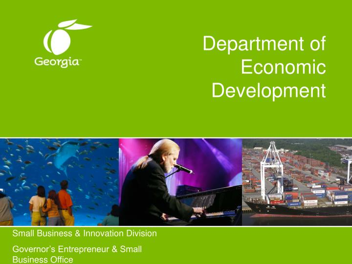 department of economic development n.