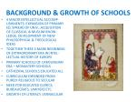 background growth of schools