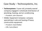 case study technosystems inc