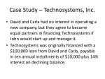 case study technosystems inc1