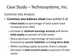 case study technosystems inc7