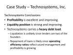 case study technosystems inc9