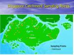 singapore catchment sampling points