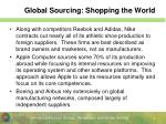 global sourcing shopping the world