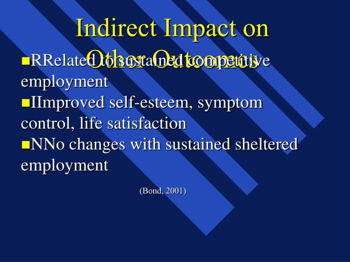 Indirect Impact on