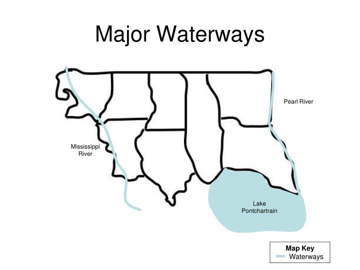 Major Waterways