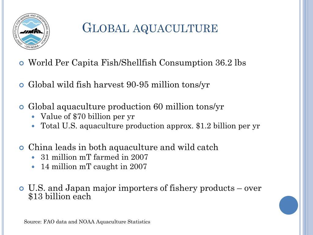 Global aquaculture