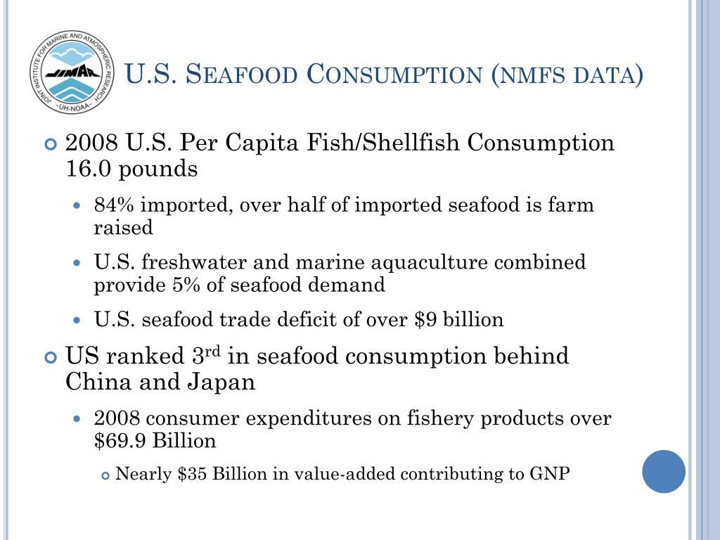 U.S. Seafood Consumption (