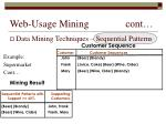 web usage mining cont23