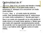 optimalidad de a1