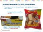 inherent nutrition real dairy goodness