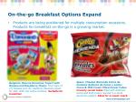 on the go breakfast options expand