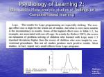 psychology of learning 2 kulik 1994 meta analytic studies of findings on computer based learning