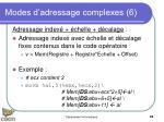 modes d adressage complexes 6