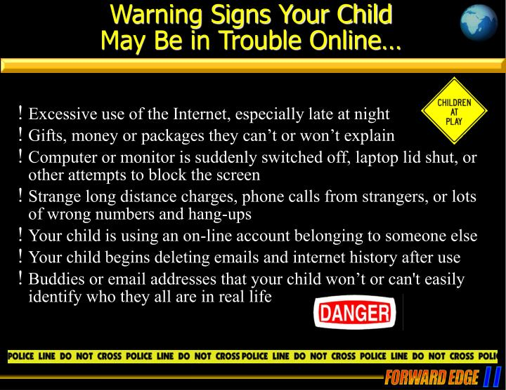 Warning Signs Your Child