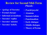 review for second mid term2
