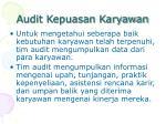 audit kepuasan karyawan1