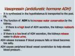 vasopressin antidiuretic hormone adh